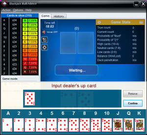 Blackjack bankroll calculator